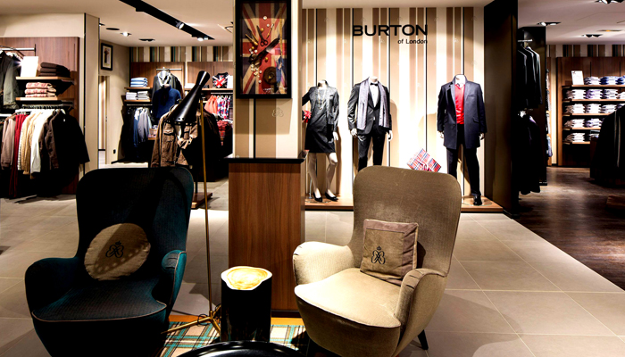 Burton Of London Catalogue
